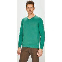 Camel Active - Sweter. Brązowe swetry klasyczne męskie marki Camel Active, l, z bawełny. Za 389,90 zł.