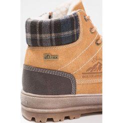 S.Oliver RED LABEL Śniegowce corn. Brązowe buty zimowe chłopięce marki s.Oliver RED LABEL, z materiału. W wyprzedaży za 223,20 zł.