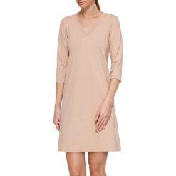Sukienka w kolorze beżowym. Brązowe sukienki marki YULIYA BABICH, xs. W wyprzedaży za 164,95 zł.