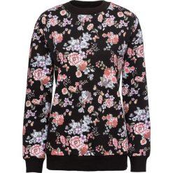 Bluza bonprix czarny w kwiaty. Czarne bluzy rozpinane damskie bonprix, w kwiaty. Za 69,99 zł.