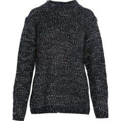 Czarny Sweter Stand. Niebieskie swetry klasyczne damskie marki ARTENGO, z elastanu, ze stójką. Za 39,99 zł.