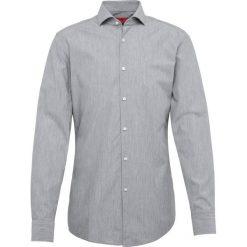 HUGO - Koszula męska, szary. Niebieskie koszule męskie marki HUGO, m, z bawełny. Za 299,95 zł.
