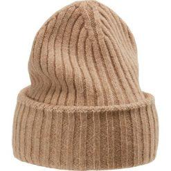 WEEKEND MaxMara MILVA Czapka kamel. Brązowe czapki zimowe damskie WEEKEND MaxMara, z materiału. Za 419,00 zł.