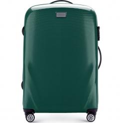 Walizka średnia 56-3P-572-85. Zielone walizki marki Wittchen, z gumy, średnie. Za 249,00 zł.
