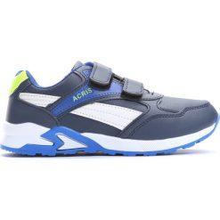 Granatowe Buty Sportowe Hold Up. Niebieskie buty sportowe chłopięce Born2be, z materiału, z okrągłym noskiem. Za 59,99 zł.