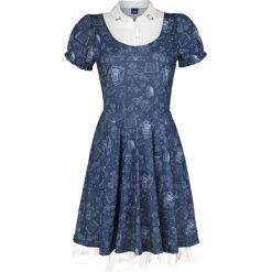 Piękna i Bestia Classic Belle Sukienka niebieski/biały. Białe sukienki na komunię Piękna i Bestia, l, z nadrukiem. Za 164,90 zł.