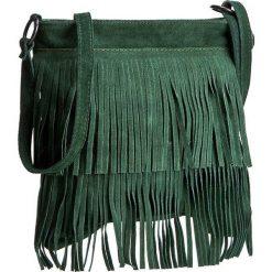 Torebka CREOLE - RBI10156 Zielony. Czarne listonoszki damskie marki Creole, ze skóry. W wyprzedaży za 119,00 zł.
