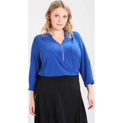 Bluzki asymetryczne: Dorothy Perkins Curve ZIP Bluzka z długim rękawem cobalt