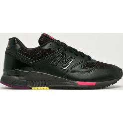 New Balance - Buty WL840AB. Czerwone buty sportowe damskie marki New Balance, z gumy. Za 399,90 zł.