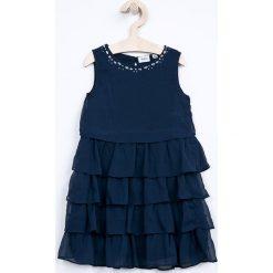 Sukienki dziewczęce z falbanami: Blukids - Sukienka dziecięca 98-134 cm
