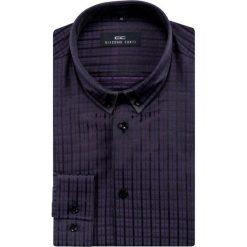 Koszula ALONSO M KDFE000036. Fioletowe koszule męskie na spinki marki Reserved, l, z bawełny. Za 129,00 zł.