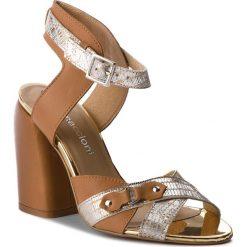 Sandały damskie: Sandały MACCIONI – 674.877082.3205 Złoty
