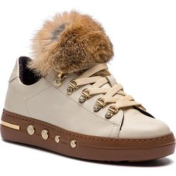 Sneakersy BALDININI - 948025TSILA9341XXRPA Biscotto. Brązowe sneakersy damskie Baldinini, z materiału. Za 2079,00 zł.