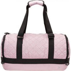 Torba na ramię damska TPD600 - beż - Outhorn. Różowe torebki klasyczne damskie Outhorn, w paski, z materiału, pikowane. W wyprzedaży za 44,99 zł.