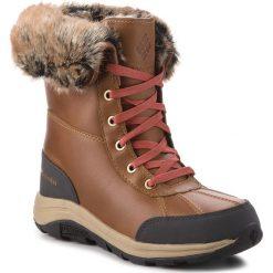 Śniegowce COLUMBIA - Bangor Omni Heat BL2743 Elk/Rusty 286. Brązowe buty zimowe damskie Columbia, z materiału. W wyprzedaży za 559,00 zł.
