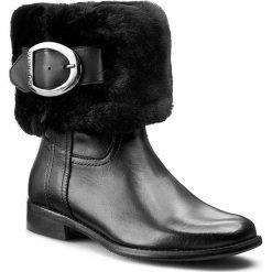 Kozaki LASOCKI - 135906-02 Czarny. Czarne buty zimowe damskie Lasocki, ze skóry, na obcasie. W wyprzedaży za 99,99 zł.