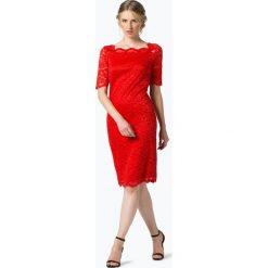 Esprit Collection - Sukienka damska, czerwony. Czerwone sukienki hiszpanki Esprit Collection, w koronkowe wzory, z koronki. Za 249,95 zł.