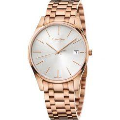 ZEGAREK CALVIN KLEIN TIME GENT K4N21646. Szare zegarki męskie Calvin Klein, szklane. Za 1449,00 zł.