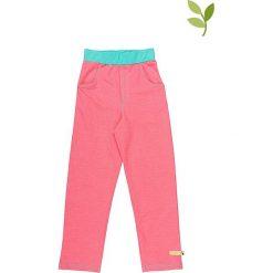 Spodnie niemowlęce: Spodnie w kolorze czerwonym