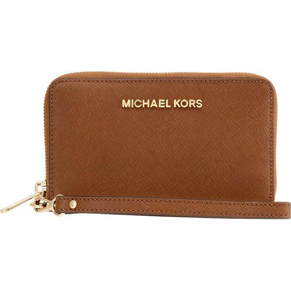 2e1b126abdfa1 MICHAEL Michael Kors JET SET TRAVEL Portfel luggage - Pomarańczowe portfele  damskie MICHAEL Michael Kors, bez wzorów. Za 459,00 zł.