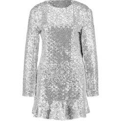 Sister Jane LIGHTYEARS PEPLUM DRESS Sukienka koktajlowa silver. Szare sukienki koktajlowe Sister Jane, l, z materiału. Za 429,00 zł.