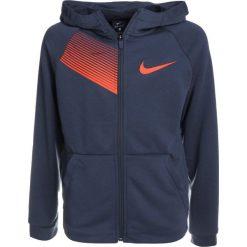 Nike Performance DRY HOODIE  Bluza rozpinana thunder blue/hyper crimson. Niebieskie bluzy chłopięce Nike Performance, z materiału. W wyprzedaży za 149,25 zł.