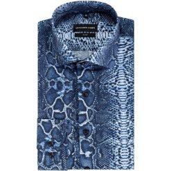 Koszula SIMONE KDWS000397. Szare koszule męskie jeansowe marki Giacomo Conti, m. Za 199,00 zł.