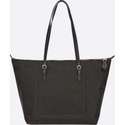Lauren Ralph Lauren - Torebka. Czarne torebki klasyczne damskie Lauren Ralph Lauren, z materiału, duże. W wyprzedaży za 429,90 zł.