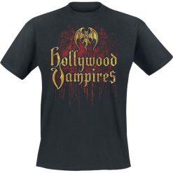 T-shirty męskie: Hollywood Vampires Logo Drips T-Shirt czarny