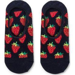 Skarpety Stopki Unisex HAPPY SOCKS - STB06-6000 Granatowy Kolorowy. Niebieskie skarpetki damskie Happy Socks, w kolorowe wzory, z bawełny. Za 24,90 zł.