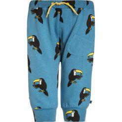 Spodnie chłopięce: Småfolk PANTS WITH TOUCAN Spodnie treningowe cendre blue