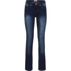 """Dżinsy """"Power-stretch"""" SLIM bonprix ciemnoniebieski. Niebieskie jeansy damskie slim marki House, z jeansu. Za 109,99 zł."""