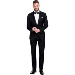 Czarny garnitur CARLO 13-14X2B. Czarne garnitury Giacomo Conti, z tkaniny. Za 998,00 zł.