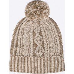 Columbia - Czapka. Szare czapki zimowe damskie Columbia, na zimę, z dzianiny. Za 119,90 zł.
