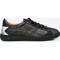 Diesel - Buty. Czarne buty sportowe damskie Diesel, z gumy. W wyprzedaży za 359,90 zł.
