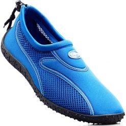 Buty do wody bonprix niebieski. Szare buty sportowe męskie marki bonprix, z materiału. Za 44,99 zł.