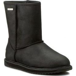Buty EMU AUSTRALIA - Paterson Leather Lo W11349 Black. Czarne buty zimowe damskie marki EMU Australia, ze skóry, na niskim obcasie. W wyprzedaży za 539,00 zł.
