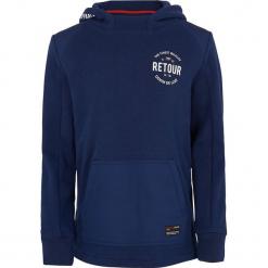 Bluza w kolorze niebieskim. Niebieskie bluzy chłopięce marki Retour Denim de Luxe, z bawełny. W wyprzedaży za 115,95 zł.