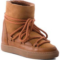Buty INUIKII - Sneaker Classic 70203-5 Deer. Brązowe buty zimowe damskie Inuikii, ze skóry. Za 1129,00 zł.