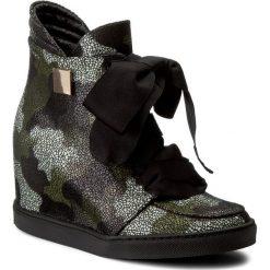 Sneakersy BALDOWSKI - D01022-SNIK-118 Alaska Moro. Zielone sneakersy damskie Baldowski, ze skóry. W wyprzedaży za 399,00 zł.