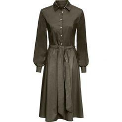Sukienka szmizjerka bonprix khaki. Fioletowe sukienki balowe marki Reserved, z weluru, plisowane. Za 179,99 zł.