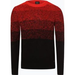 Swetry klasyczne męskie: BOSS Casual - Sweter męski – Kardumage, czarny