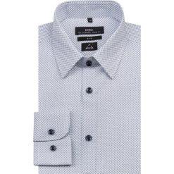 Koszula SIMONE KDNS000150. Niebieskie koszule męskie na spinki marki Giacomo Conti, m, z tkaniny, klasyczne. Za 259,00 zł.