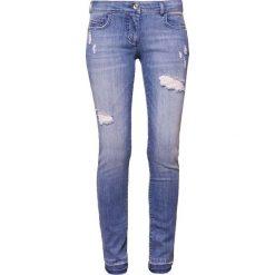 Patrizia Pepe Jeans Skinny Fit grey. Szare boyfriendy damskie Patrizia Pepe, z bawełny. W wyprzedaży za 343,60 zł.