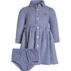 Odzież dziecięca: Polo Ralph Lauren STRIPE DRESSES BABY Sukienka letnia fall royal/white