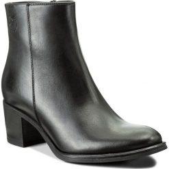 Botki EVA MINGE - Mireia 2G 17GR1372266EF 101. Czarne buty zimowe damskie Eva Minge, z polaru, na obcasie. W wyprzedaży za 299,00 zł.