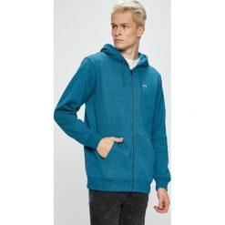 Vans - Bluza. Szare bluzy męskie rozpinane marki Vans, l, z bawełny, z kapturem. Za 259,90 zł.