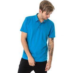 Koszulki polo: 4f Koszulka męska polo H4L18-TSM015 niebieska r. L