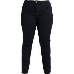 Boyfriendy damskie: ADIA MONACO  Jeansy Slim Fit dark blue