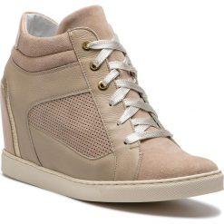 Sneakersy GINO ROSSI - Taniko DTH891-Z54-0353-0035-0 02/02. Brązowe sneakersy damskie Gino Rossi, z lakierowanej skóry. W wyprzedaży za 419,00 zł.